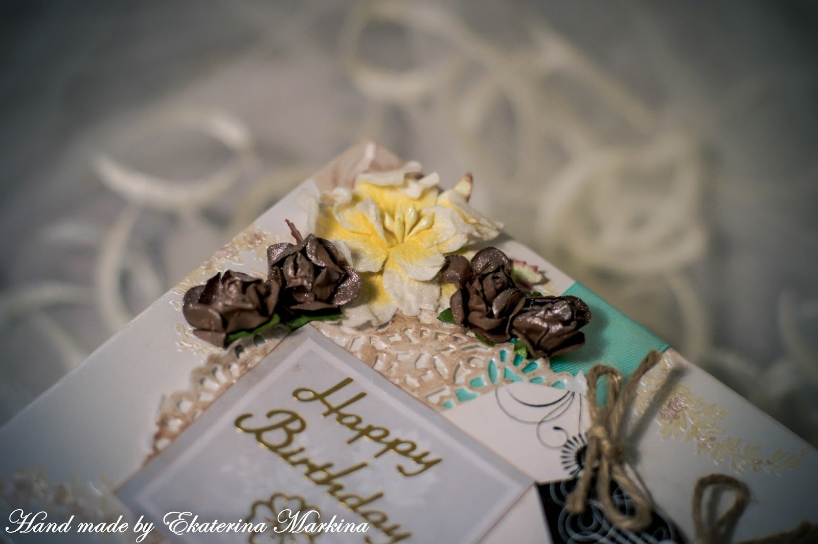 Шкатулка на день рождения
