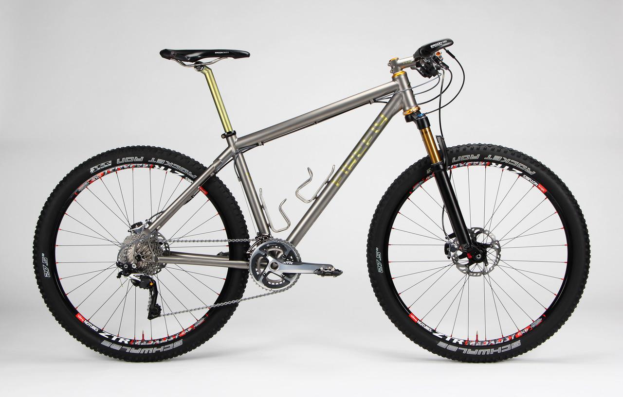 Bicicletas de Titanio Firefly, para toda la vida - Bike T3CH