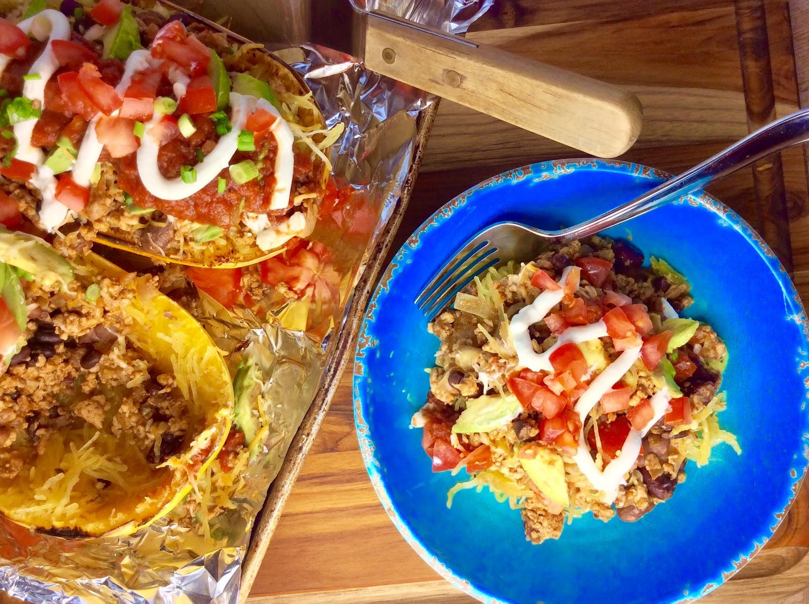 Food Fitness By Paige Tex Mex Spaghetti Squash