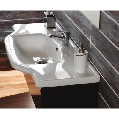 A few of my favorite ada wheelchair accessible bathroom sinks what makes them wheelchair for Wheelchair accessible sink bathroom