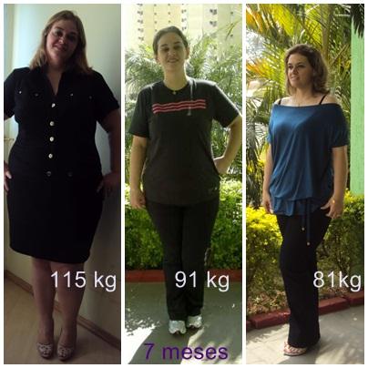 34 kg off em 7 meses
