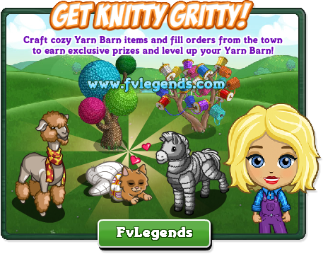 FarmVille Yarn Barn Crafting Building Arrives Popup