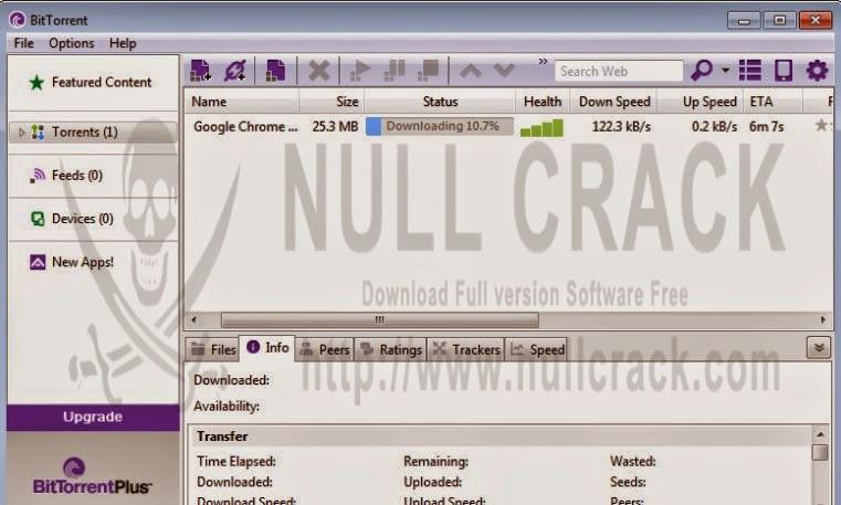 تحميل و تفعيل BitTorrent PRO 7.9.2 build 38759 Crack Patch Serial