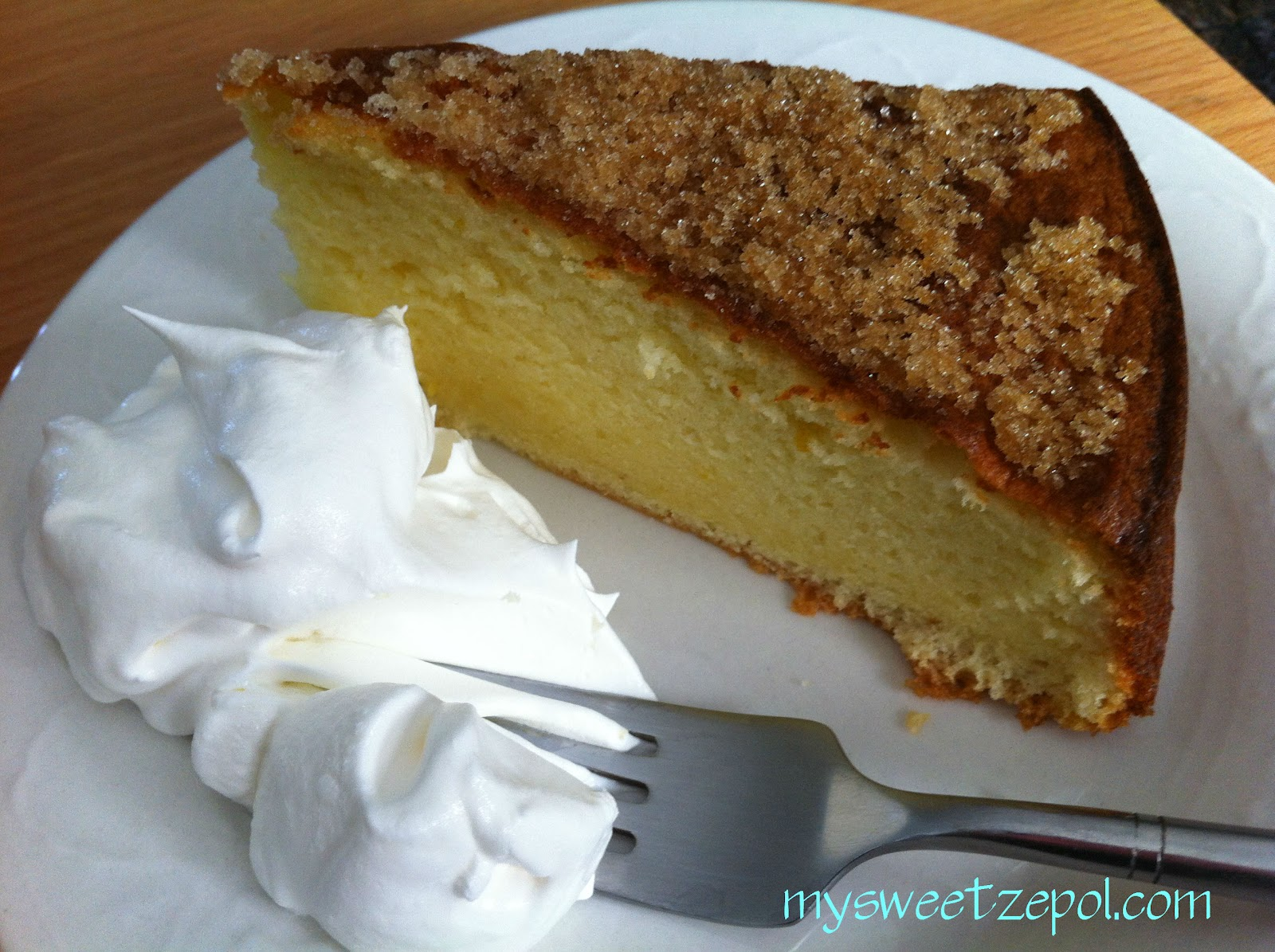 how to make brown sugar sponge cake