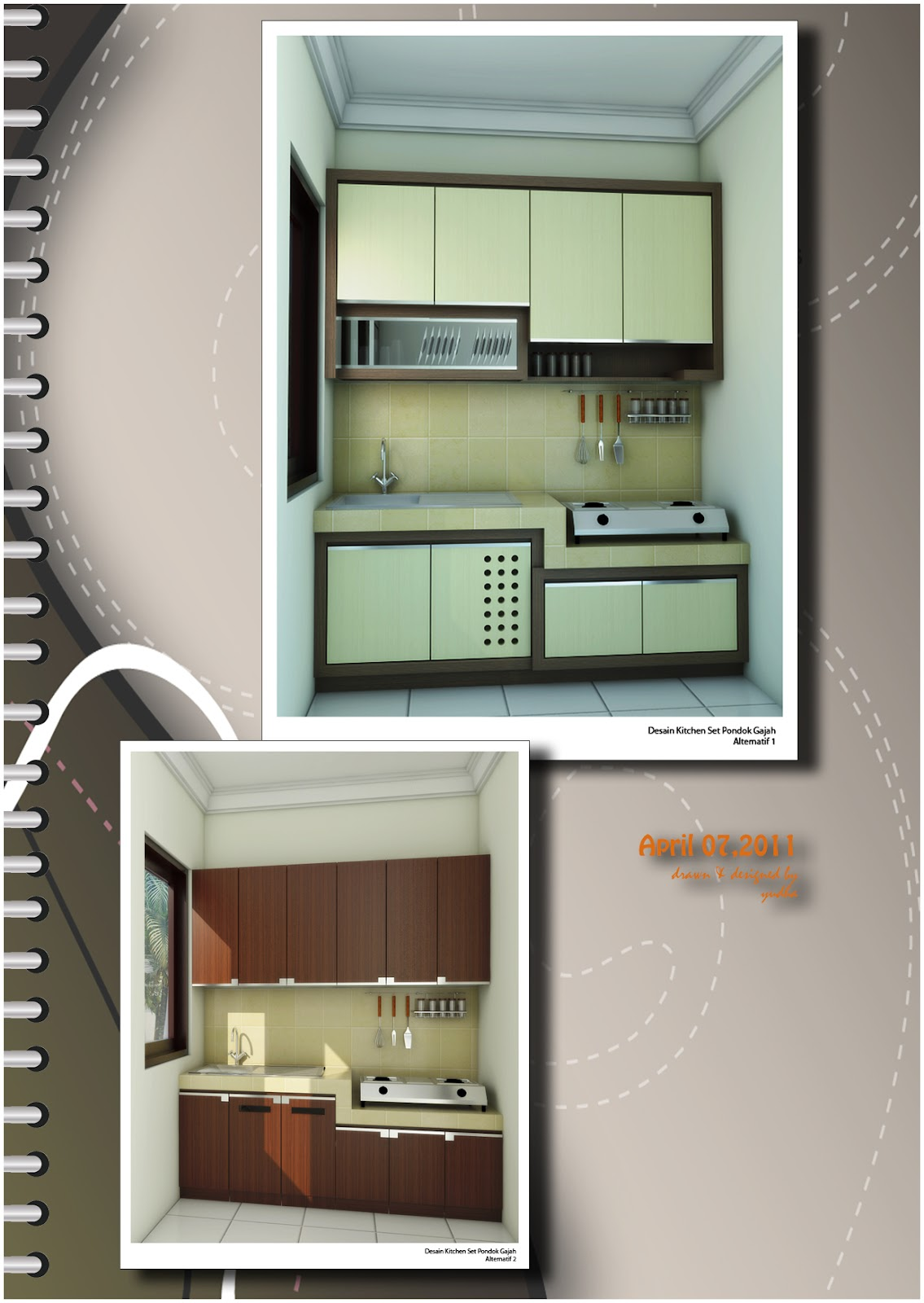 Kitchen set minimalis katalog desain pak de i for Katalog kitchen set