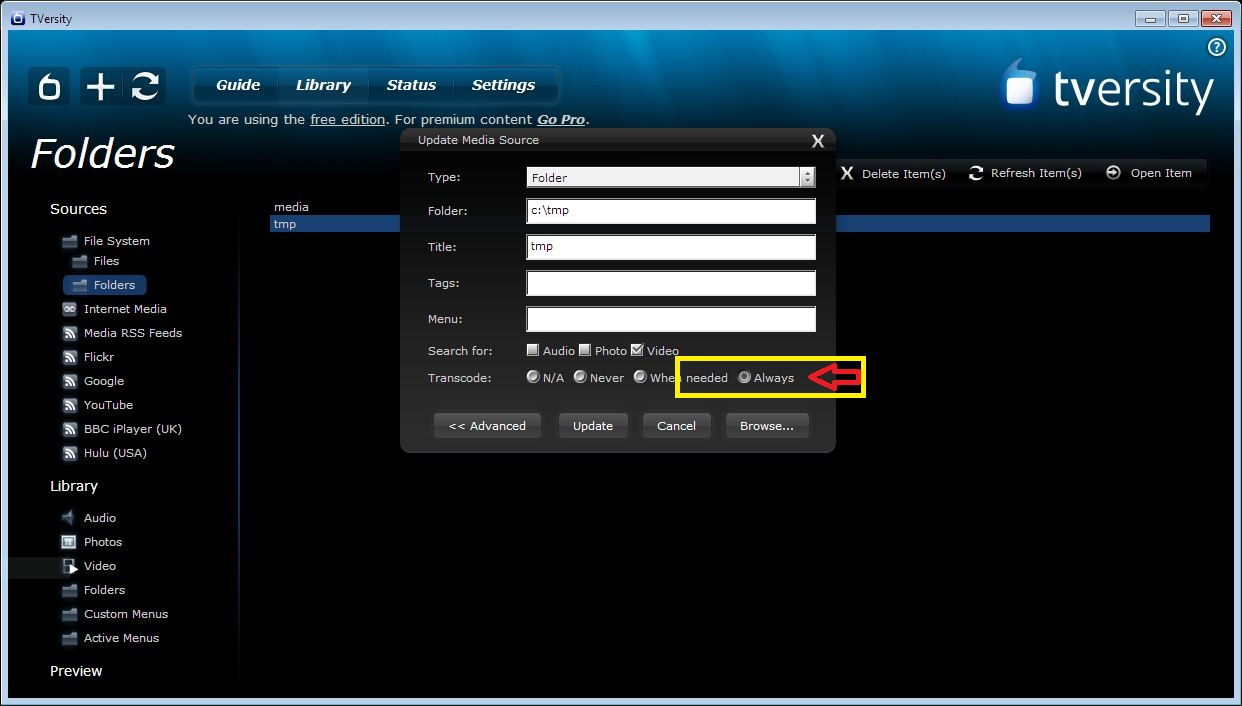 practicalrambler how to transcode media video files permanently rh practicalrambler blogspot com 1080P PS3 Settings PS3 Network Settings