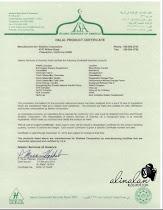 Sijil Halal Produk Shaklee 2012