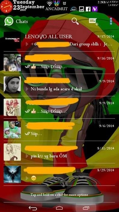Download WhatsApp Transparan Apk