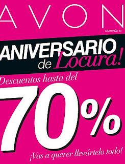 Catalogo virtual Avon C11 aniversario de locura 2015