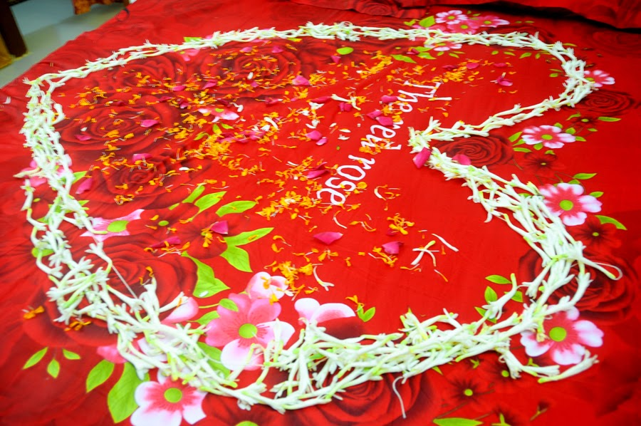 Bangladeshi Wedding Bed Decoration With Flowers : ... wedding flower bed decoration bengali simple wedding flower bed