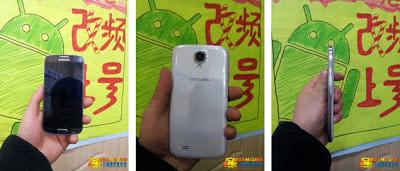 Leaked Samsung GT-I9502 images