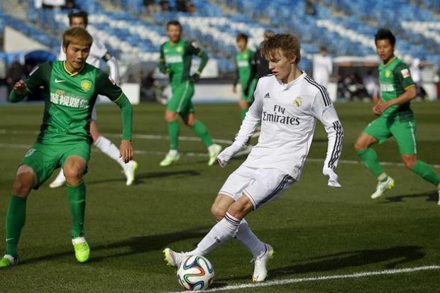 Remaja Real Madrid Pemain Paling Muda Beraksi UCL, info, terkini, sukan, bola sepak, real madrid, martin Odegaard
