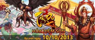 Game Tây Du Ký Online - Hoả Diệm Sơn