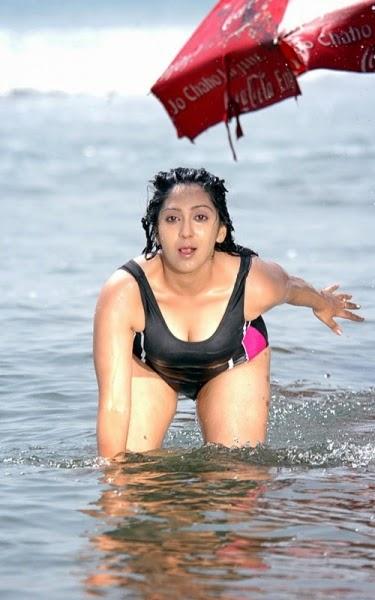 actress ankitha bikini
