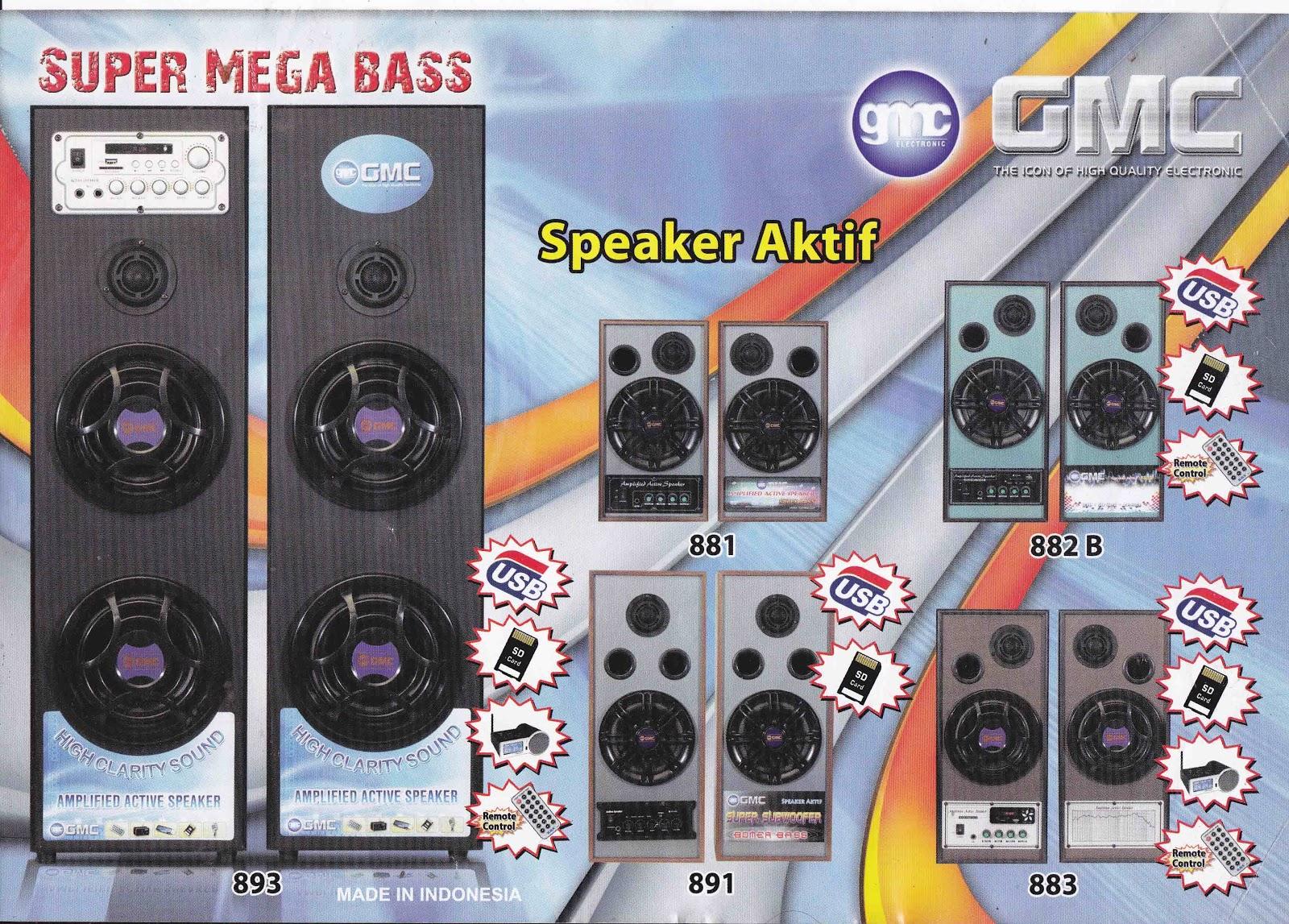 speaker aktif GMC murah