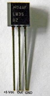 Gambar Rangkaian Sensor Suhu LM35