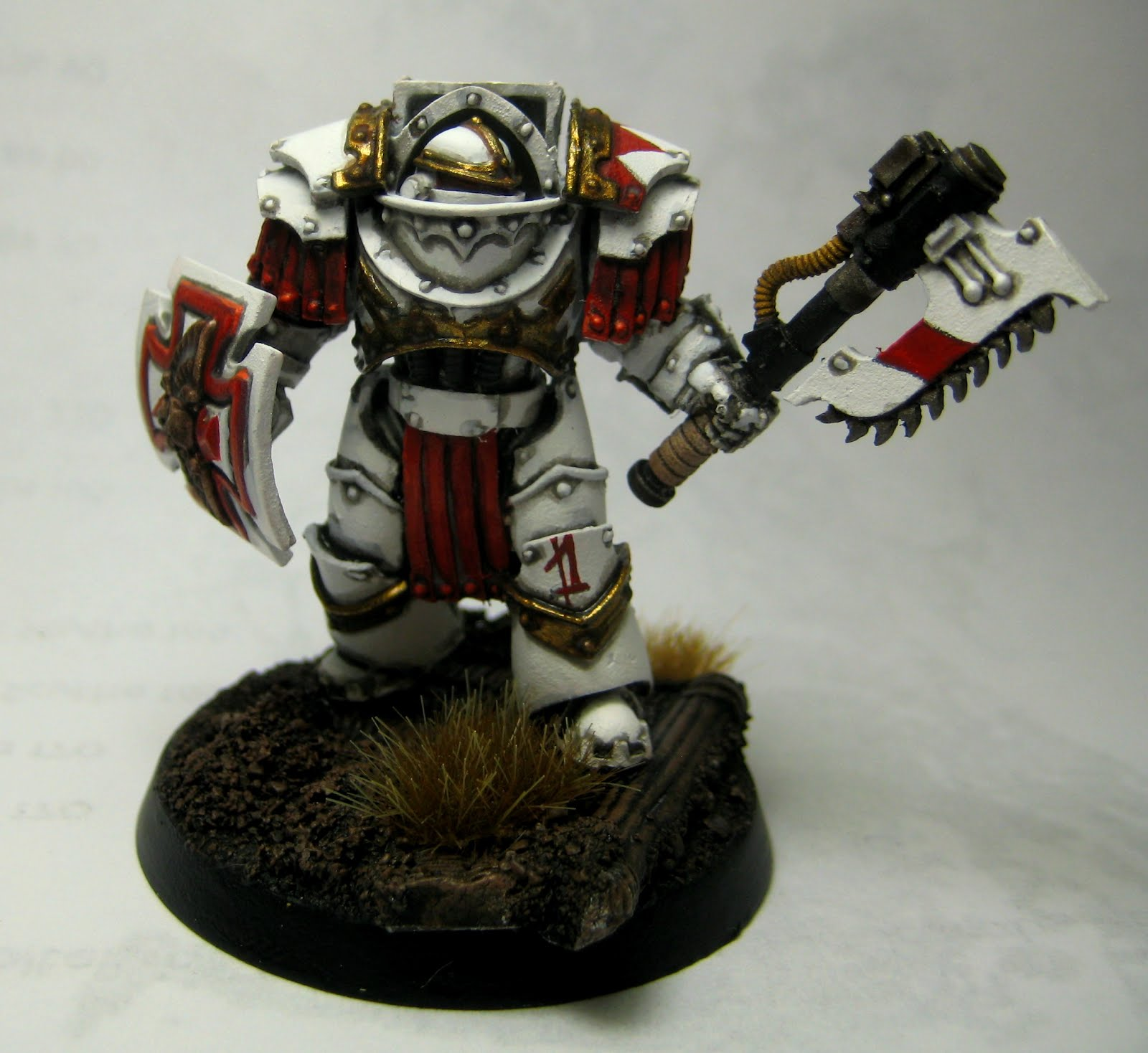 Painting White Scars The Vth Legion