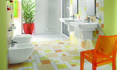 natural beauty  bathroom tile