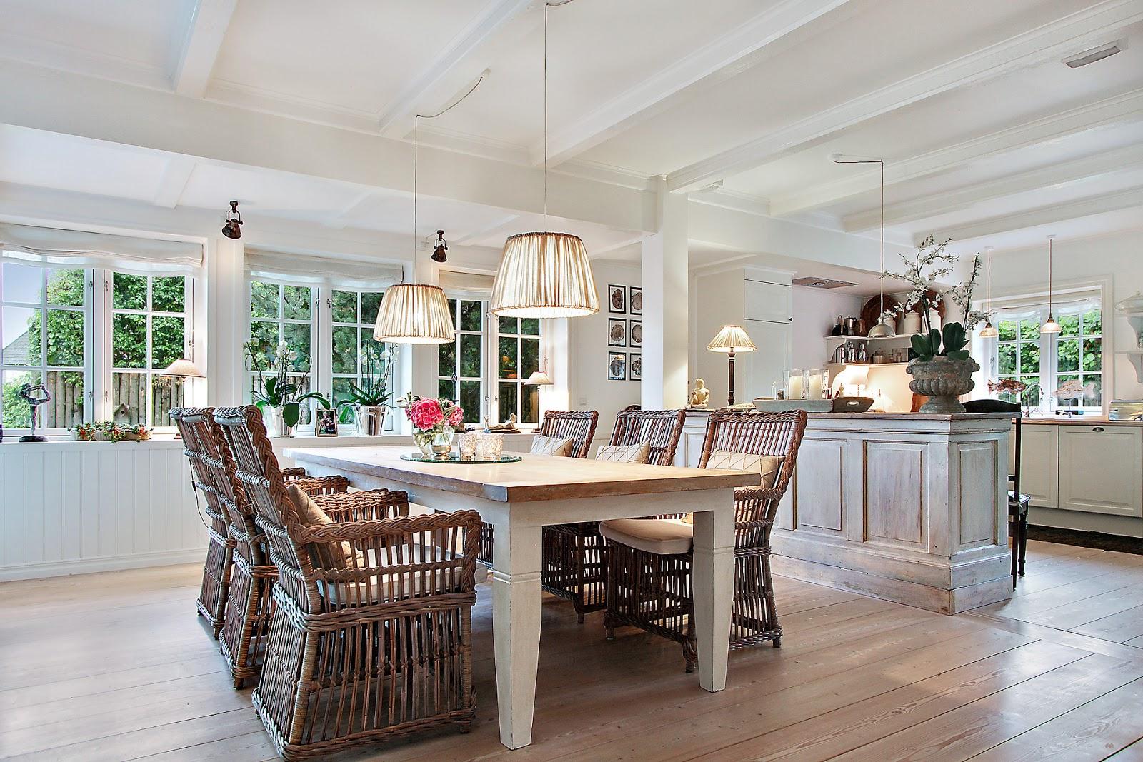 Lovely deco une jolie maison au style campagnard - Maison style campagnard ...