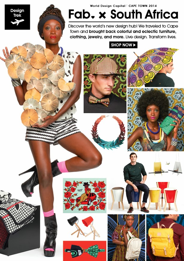 Africa reinvented  - Made by Keri Muller @fab.com