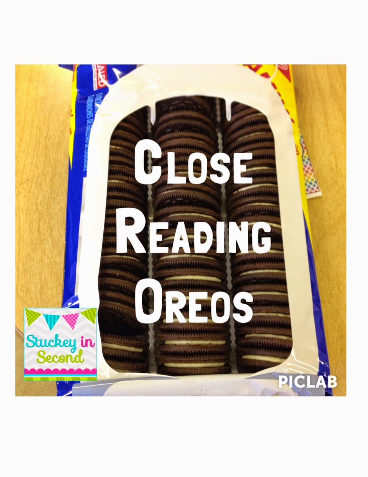 Stuckey in second close reading with oreos by primary polka dots my team and i heard about this awesome oreo cookie lesson from the third grade teachers at our school and of course since it involved oreos freerunsca Image collections