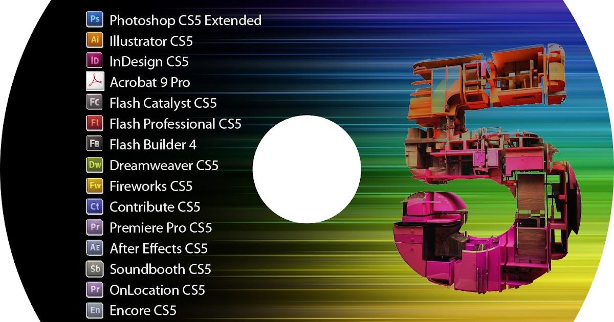 Adobe creative suite 5.5 master setup key
