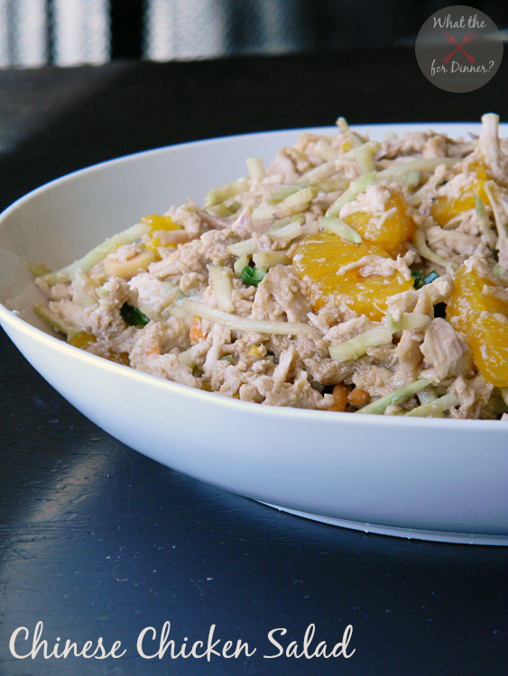 Featured Recipe | Chinese Chicken Salad from Mom's Test Kitchen #SecretRecipeClub #recipe