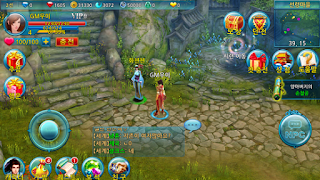 Screenshots of the Heavenly Sword Season 2: The Shadow of the Wind for Android tablet, phone.