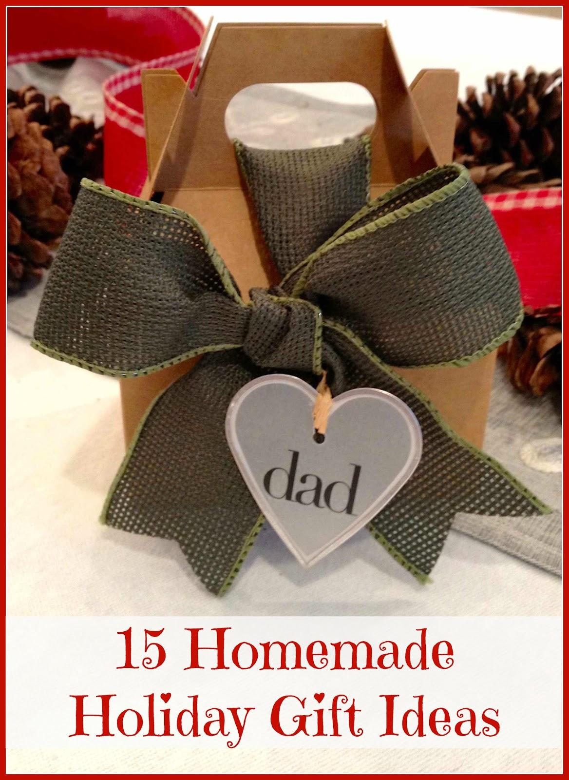 homemade christmas gifts: