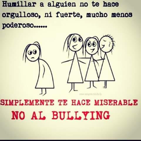 ¡No al bullying!