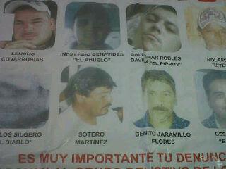 Banner Targets Zetas San Fernando Tamaulipas