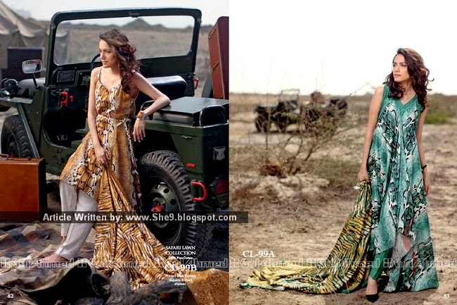 Gul Ahmed Safari Printed Lawn 2015