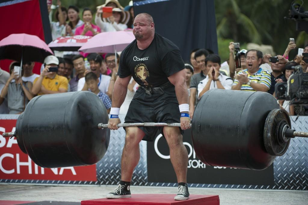 World Strongest Man Brian Shaw