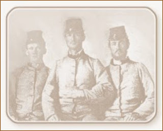 Descendants of William McGuffy Rives serving in CSA