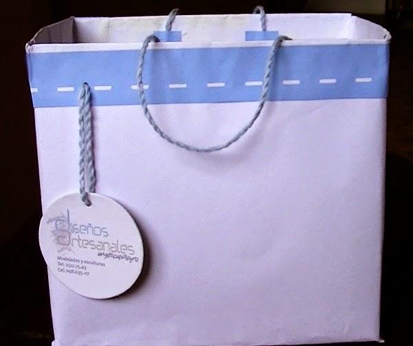bolsa hecha a mano