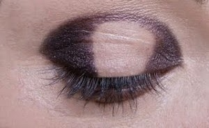Bronw and golden smoky eyes and step by step