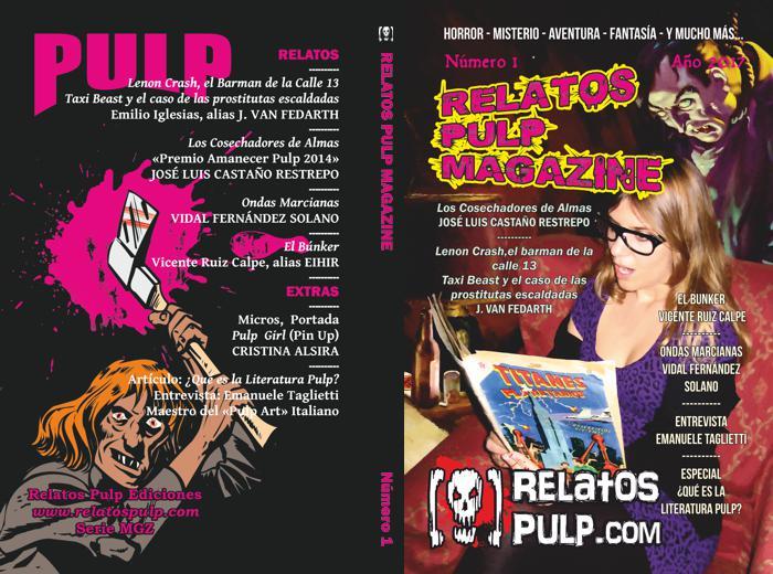 Publicaciones -Relatos Pulp Magazine