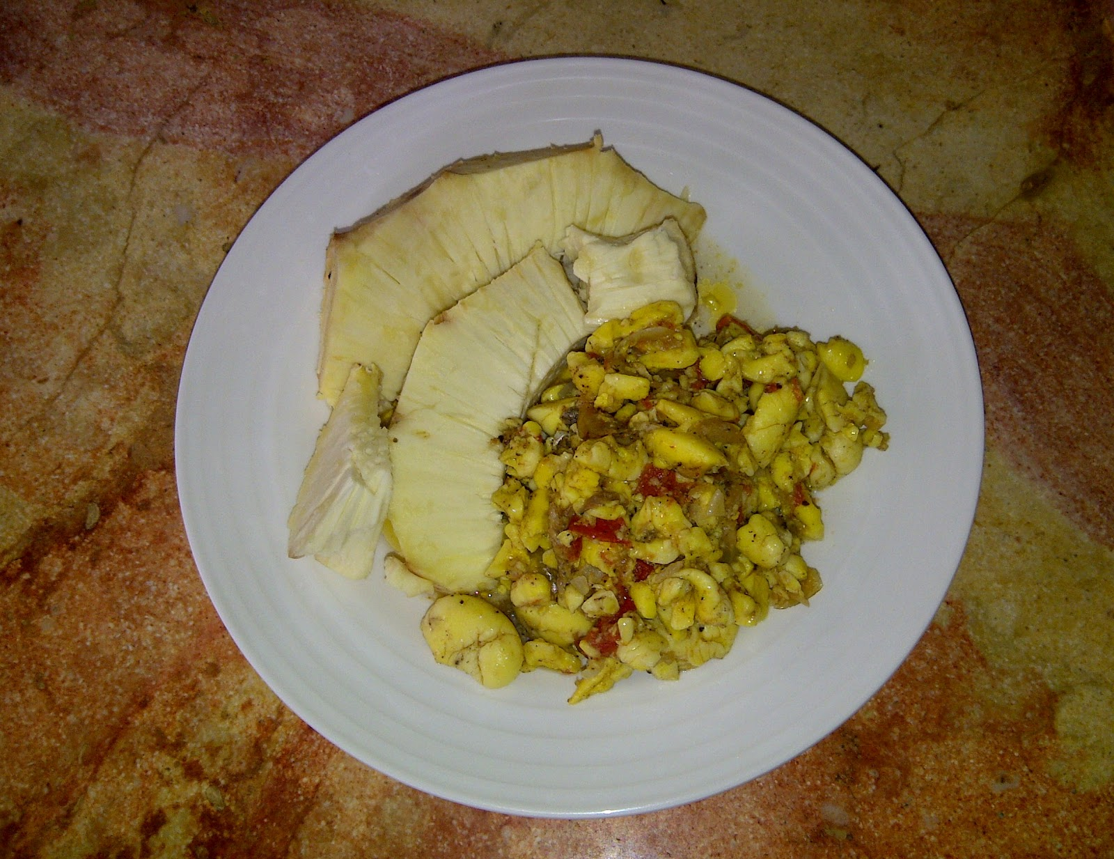 Pin Ackee And Saltfish Rice Peas Jamaica Cake on Pinterest