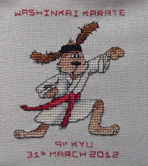 Conors Karate Dog