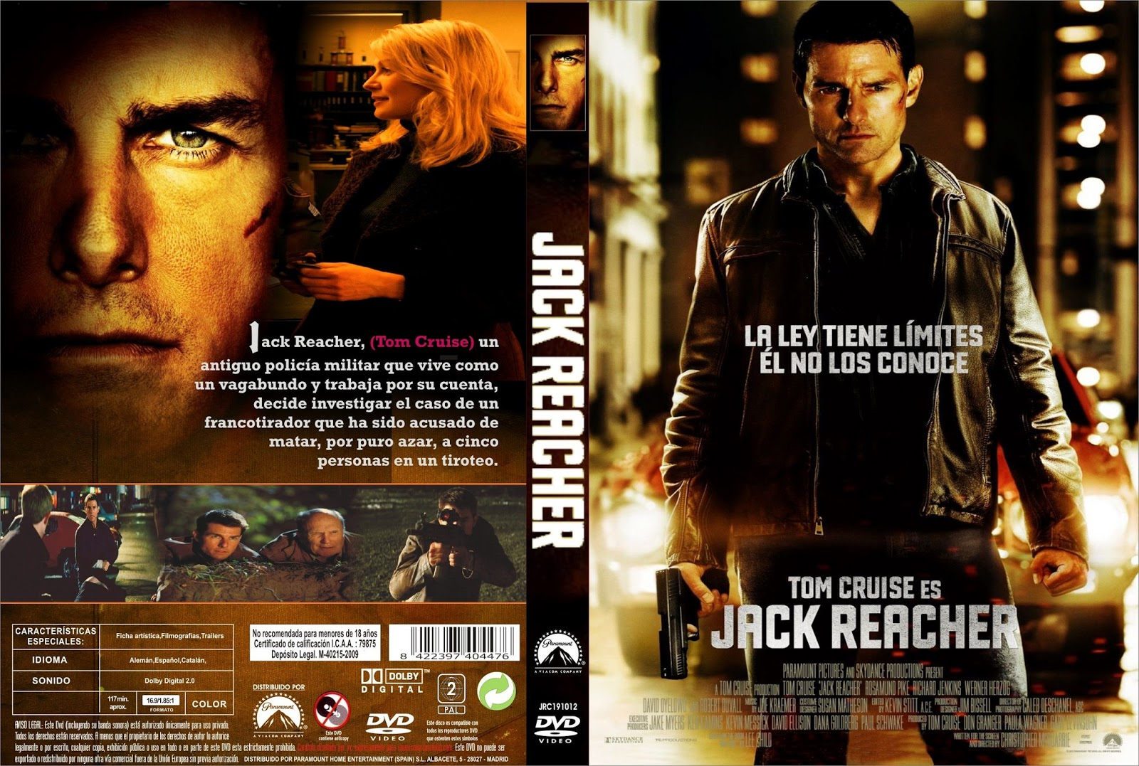 Jack Reacher - DVDFULL LATINO