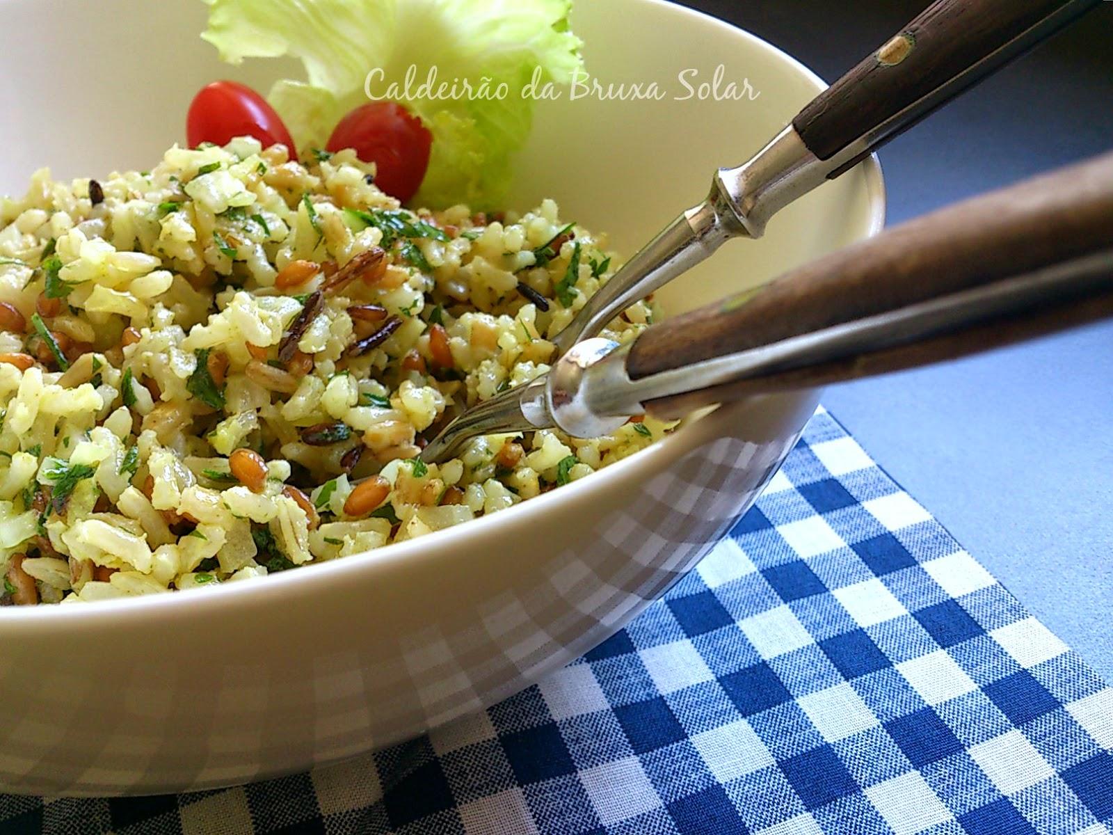 Salada de 7 grãos