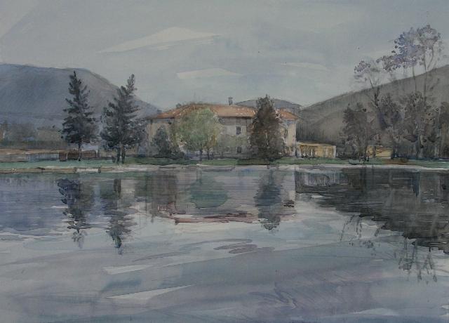 Lavostraarte di carla colombo acque ii galleria for Piccoli piani di casa sul fiume