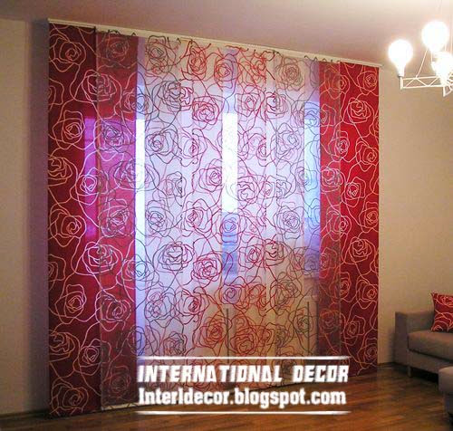 japanese curtains, japanese door curtains, patterns curtain panels