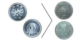 Yen berapa rupiah?