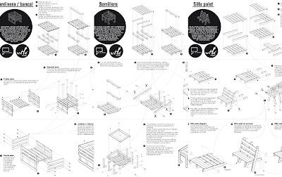 Planos construir jardinera semillero silla palets