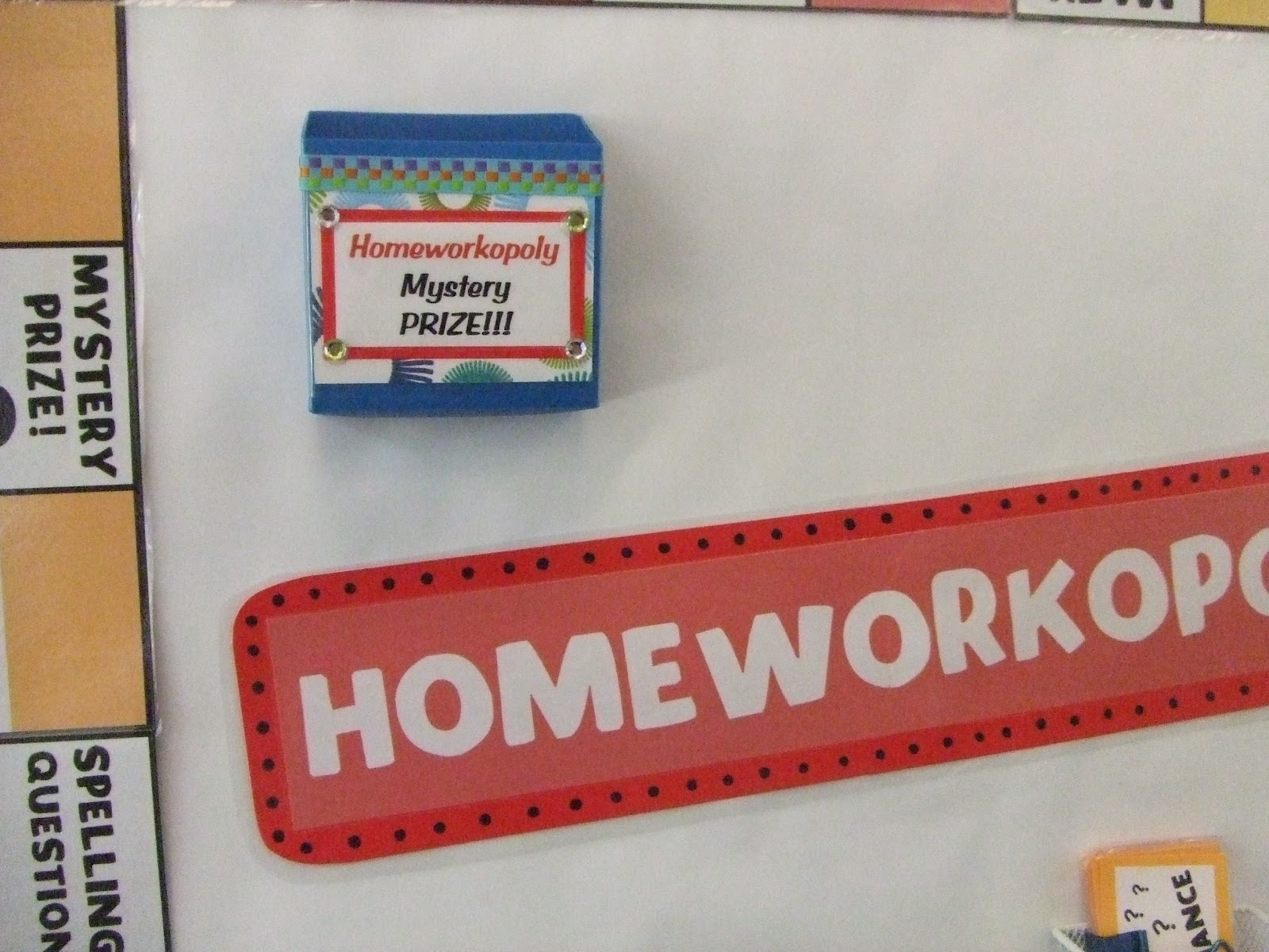 storage area  homeworkopoly  Travel with Teaching