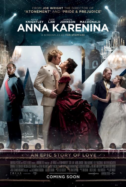 Anna Karenina 2012 poster