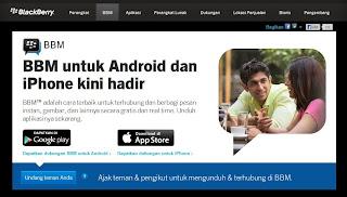 BBM di Android dan IOS