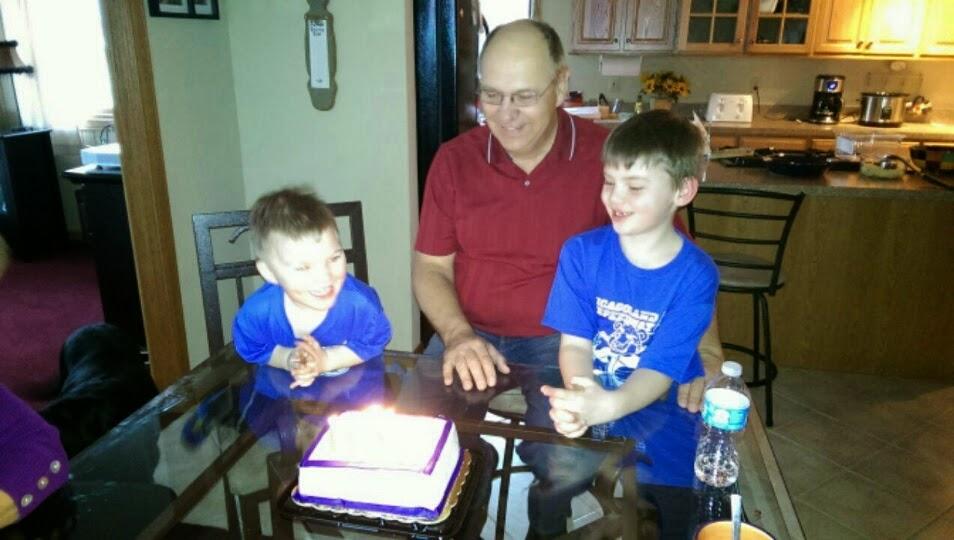 Birthday with the Boys!