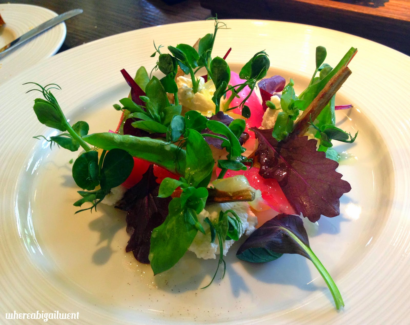 Set Lunch Starter at Dinner By Heston Blumenthal